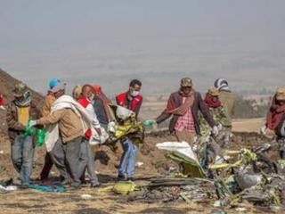 US joins Ethiopian-led investigation at Boeing crash site