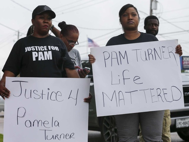 Calls for justice abound at funeral for woman fatally shot by Baytown officer