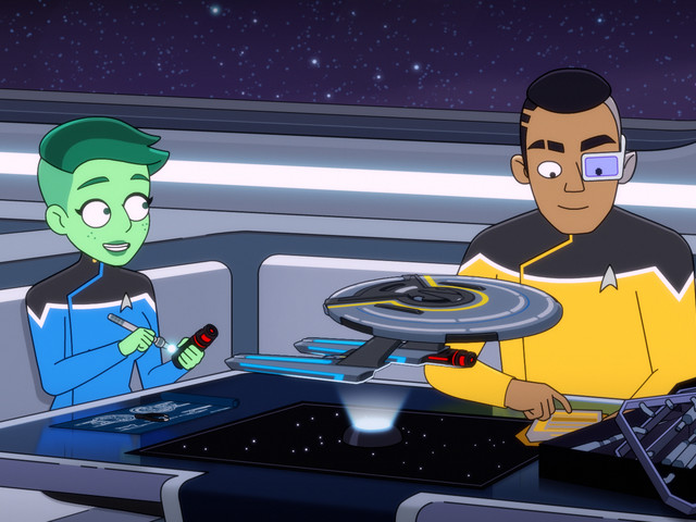 Animation makes Star Trek finally feel like a lived-in universe