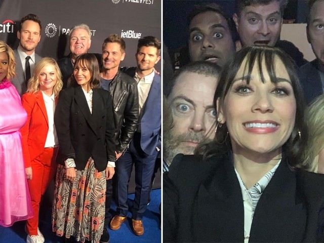 The Parks and Rec Cast Reunited, and Oh, How We've Missed These Beautiful Tropical Fish