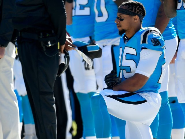 Eric Reid sure does get 'randomly' drug tested a lot