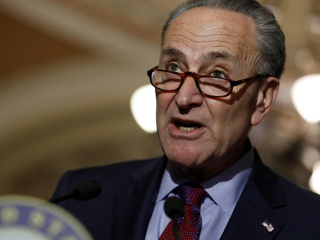Republicans Are Hiding Health Care Plan Because They're 'So Ashamed,' Schumer Says