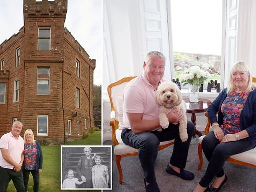 Former Met police officer leaves London beat to live in Scottish castle built by great-grandfather