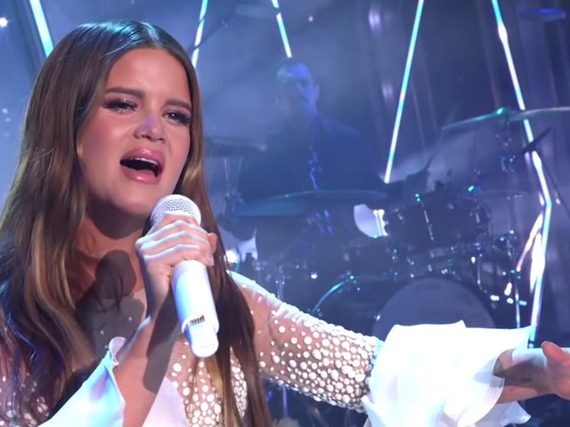Maren Morris Performs 'Girl' At CMA Awards & Sings Jimmy Kimmel A Birthday Song