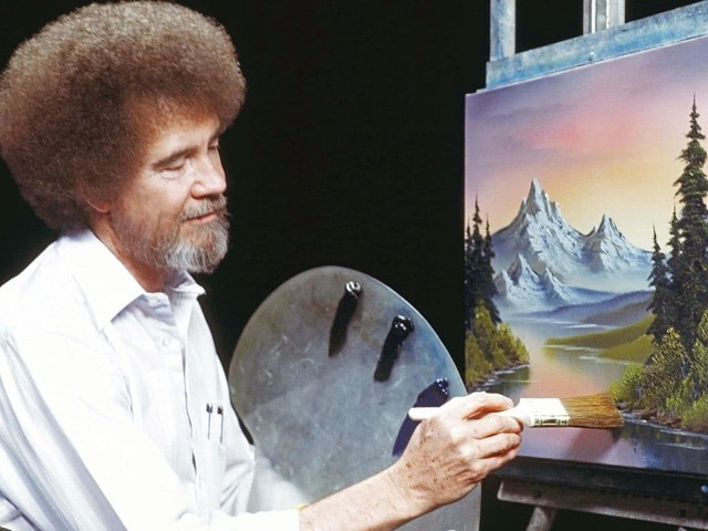 How the long-dead public-television painter Bob Ross became a streaming phenomenon (and kicked up plenty of dirt in the process)