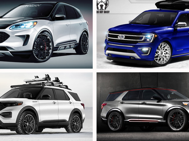 Ford's Bringing Eight Modified Crossovers And SUVs To SEMA