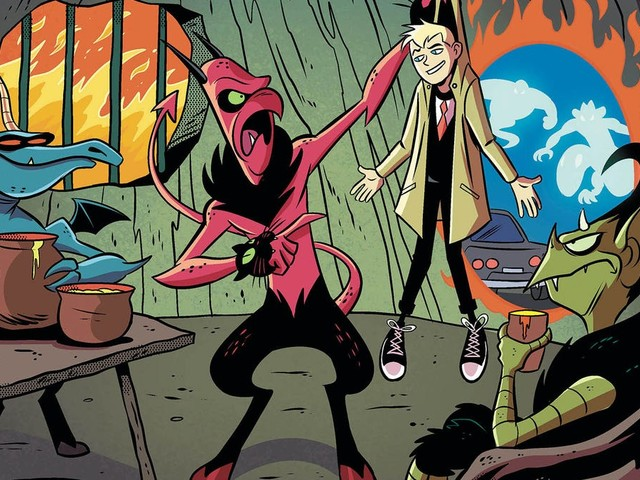 Not even teen Constantine can save The Mystery Of The Meanest Teacher from itself