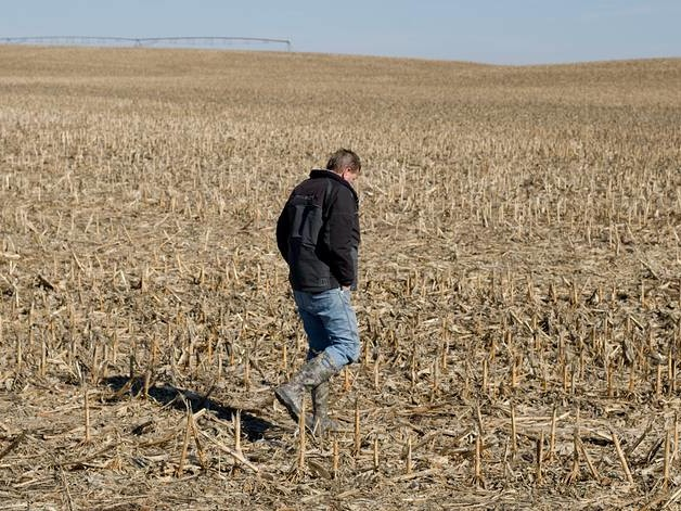 'This One Here Is Gonna Kick My Butt'---Farm Belt Bankruptcies Are Soaring