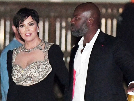 Kris Jenner , 63, Glitters At Jennifer Lawrence's Wedding In A Long Gown With Corey Gamble