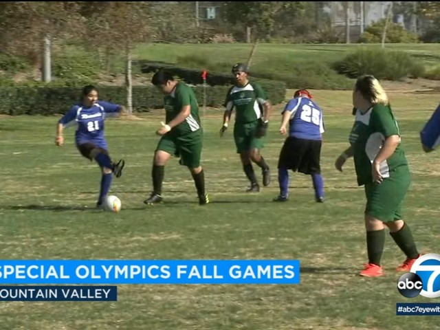 SoCal Special Olympics athletes participate in Fall Games in Fountain Valley