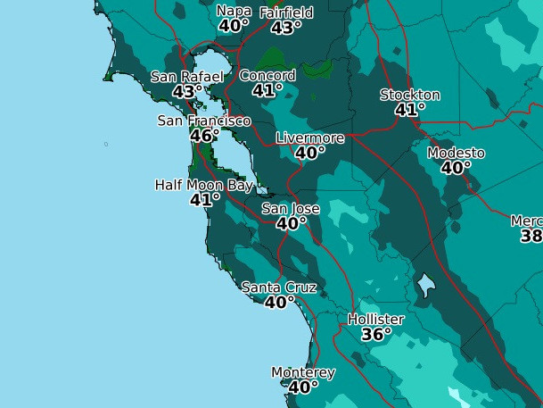 From hot to not: Cooler conditions return to Bay Area