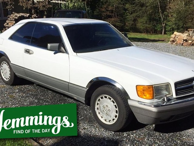 Hemmings Find of the Day: 1987 Mercedes-Benz 560 SEC