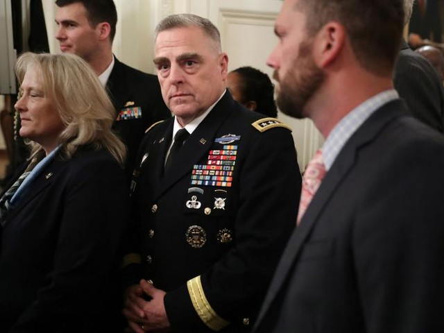 Trump announces nominee for Joint Chiefs of Staff chairman