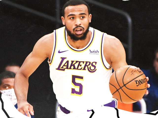 Talen Horton-Tucker is the super young, super long star of the Lakers' preseason