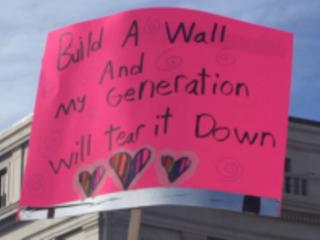 Littlest open-borders lobbyists vow to tear America's walls down