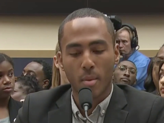 """We Don't Need Another Apology"": Congressional Hearing Erupts In Boos As Black Student Trashes Reparations Bill"