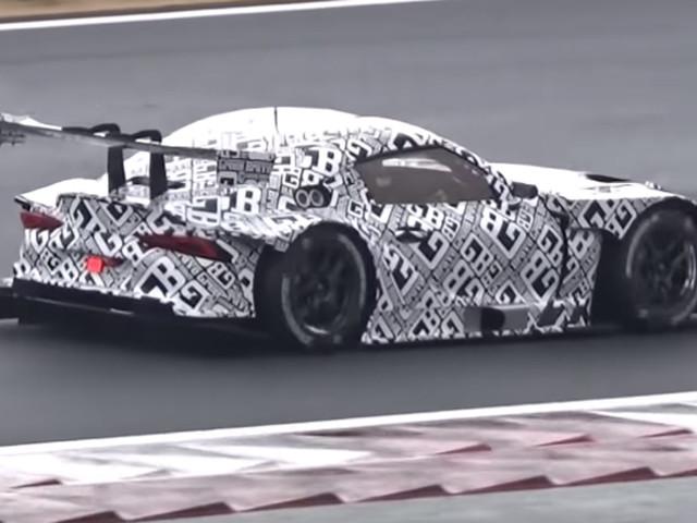 V8-Powered 2020 Toyota Supra GT300 Racer Sounds Brutal