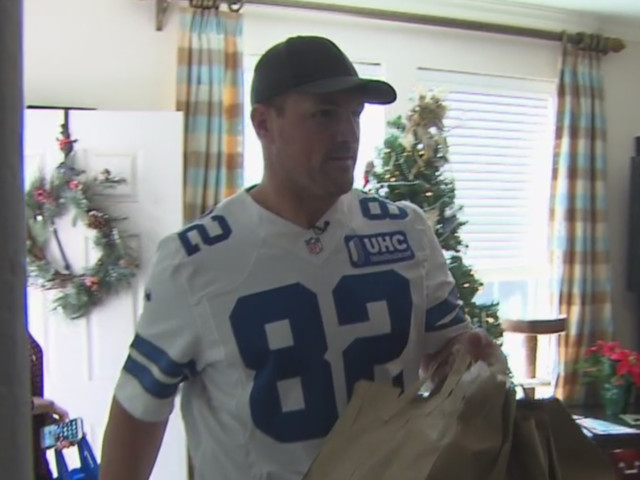 Special Delivery From Cowboys' Jason Witten