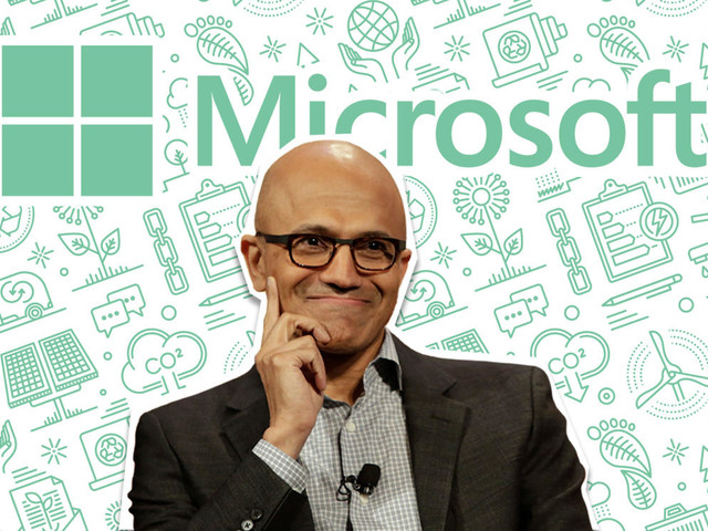 Microsoft's carbon negative goals could push other tech companies to catch up