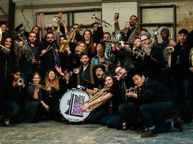 Blast off: Giant Bushwick band opens brass festival