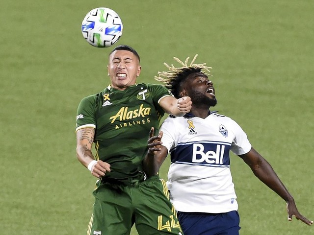 Timbers score early and hold off the Whitecaps 1-0