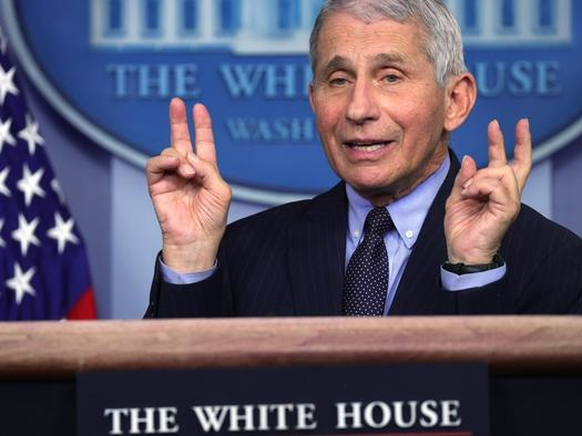 "Fauci Rejects CDC Director's ""Impending Doom"" View Of Pandemic"