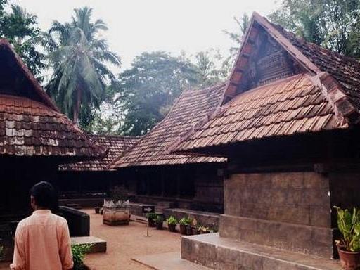 Thekkae kottaram, a traditional south Kerala homestead