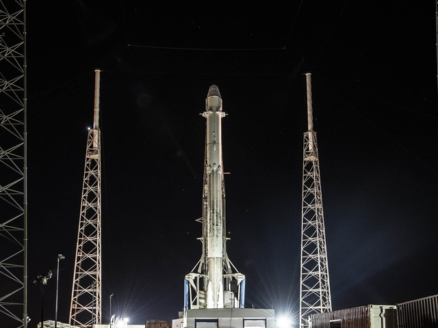 Watch SpaceX launch its first re-flown capsule and rocket combo live here