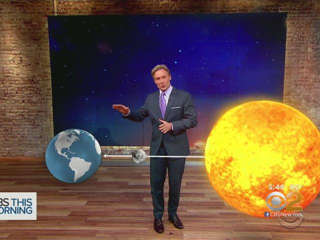 CBS2's Lonnie Quinn Explains Monday's Total Solar Eclipse
