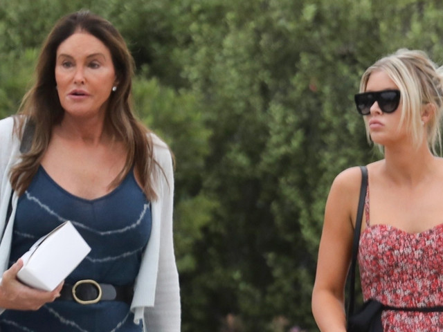 Caitlyn Jenner & Sophia Hutchins Have Lunch Together With Friends in Malibu