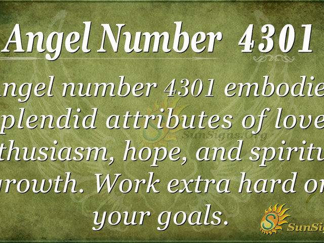Angel Number 4301 Meaning: Chance To Leap Again
