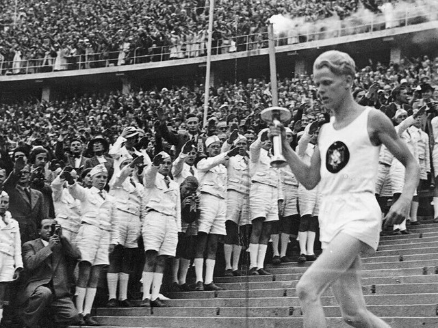 Was the Olympics Torch Relay a Tool of Nazi Propaganda?