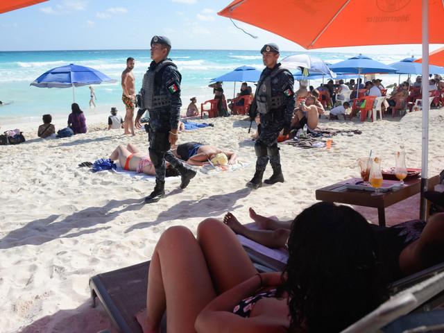 Massive military base opens near Cancun after murder spike
