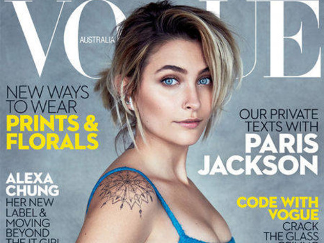 Paris Jackson Scores Her First Vogue Cover (and Does the Interview via Text)
