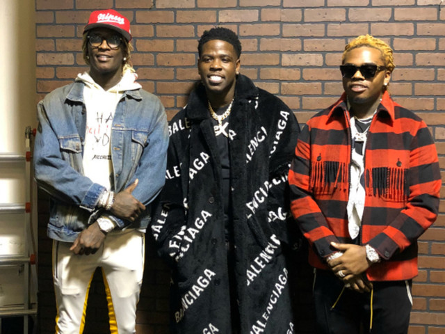 """Premiere: Casanova, Young Thug, and Gunna Keep It """"So Drippy"""" at the Club in New Video"""