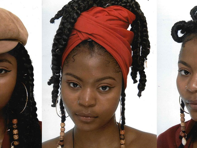 The Artist Using Passport Photos To Talk About Natural Hair
