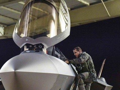 Air Force Deploys Stealth Fighters To Middle East For First Time