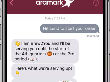 Apple Business Chat drives in-seat drink ordering at Quicken Loans Arena in Cleveland