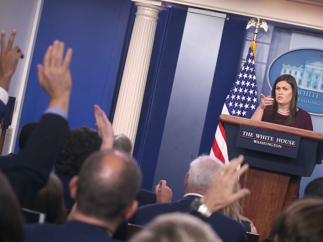 Sarah Sanders Apologizes For False Claim About African-American Jobs