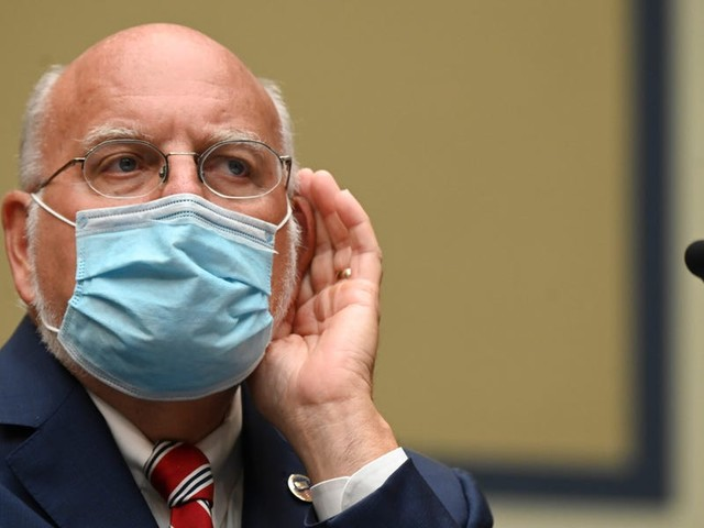 CDC director Robert Redfield said face masks may be more effective than a vaccine in preventing individual coronavirus infections