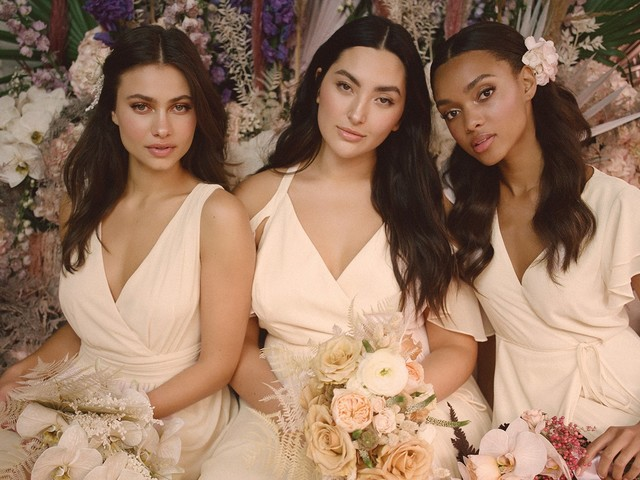This Popular Affordable Bridal Collection Now Offers Custom Colors And Extended Sizing