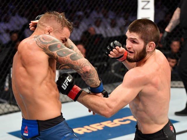Dustin Poirier says he should have brought a 'pistol' to Khabib fight