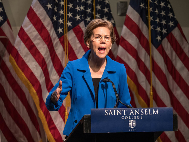 Warren, slumping in the polls, attacks Biden and Buttigieg