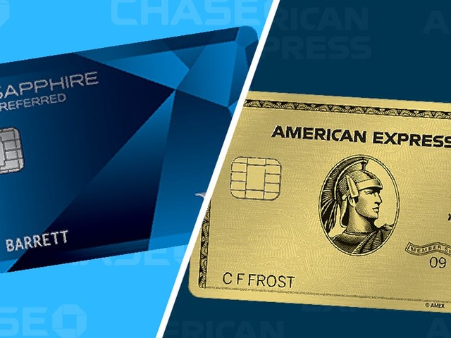 Amex Gold Card vs Chase Sapphire Preferred: Which rewards card is right for you?