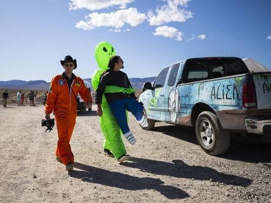 1 event near Area 51 pulls plug; second festival continues