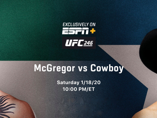 How to watch UFC 246 McGregor vs. Cowboy on iPhone, iPad, Mac, and Apple TV