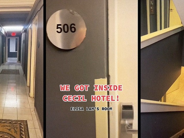 TikTokers post video at 'haunted' Cecil Hotel, claim paranormal being said Elisa Lam's name