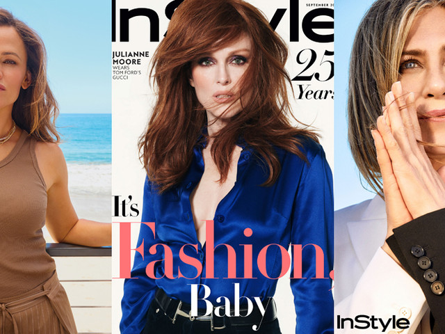 Julianne Moore Covers 'InStyle' 25th Anniversary Issue, Plus 14 More Women Return for Celebration!