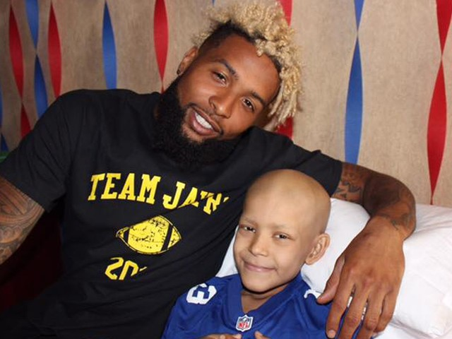 Odell Beckham Jr. flew to Texas to visit a sick child in the hospital days before training camp