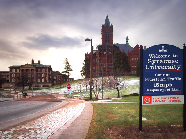Syracuse suspends frat activities after series of racist, anti-Semitic incidents